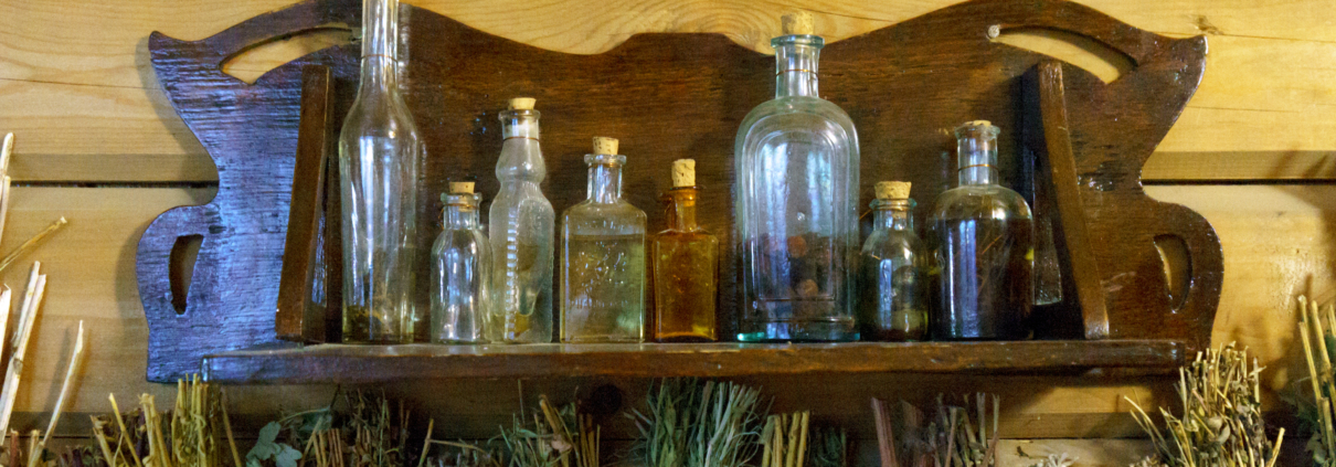 bottles and dried herbs scaled